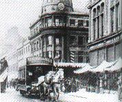 Sunderland town centre in the late 1800s.